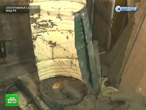 закатанные в бетон