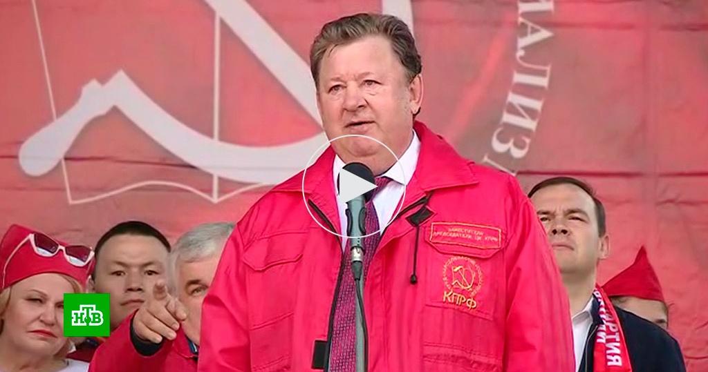 Системная оппозиция на Первомай устроила в Москве собственные акции